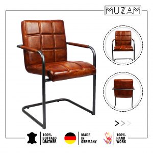 Nobel leather chair